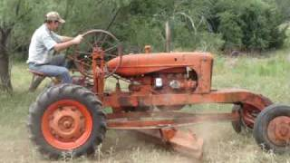 Allis Chalmers Speed Patrol Road Grader
