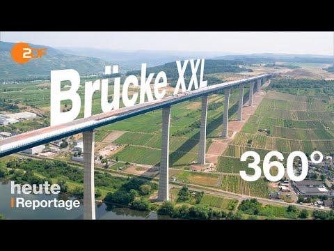 Mega-Bauwerk Hochmoselbrücke fertig