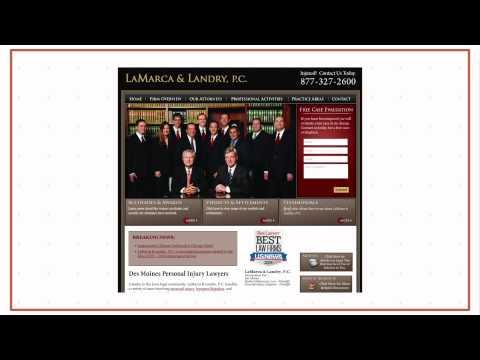 LaMarca & Landry, P.C. Personal Injury Attorneys in Des Moines (877) 327-2600