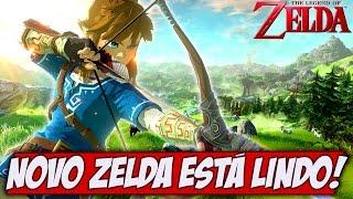 NOVO Zelda está LINDO, trailer e impressões