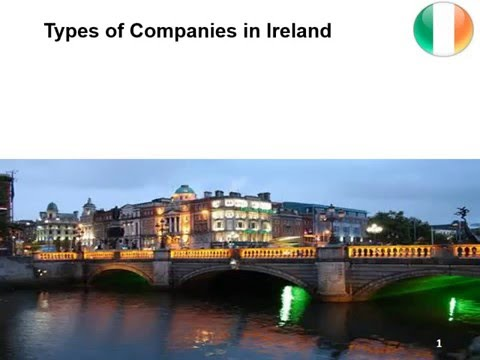 Types of Companies in Ireland