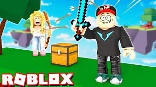 SKYWARS W ROBLOX! | Vito vs Bella