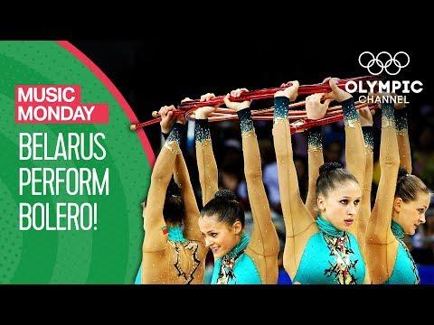 Bolero brought to life by Team Belarus Rhythmic Gymnastics | Music Monday