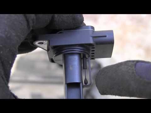 Toyota 4Runner MAF mass air flow sensor cleaning - YouTube
