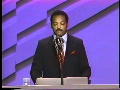 Jesse Jackson Speech 1988 ElectionWallDotOrg