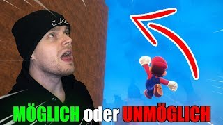KOMMT MAN DA HOCH? | Mario Odyssey (CHALLENGE!)
