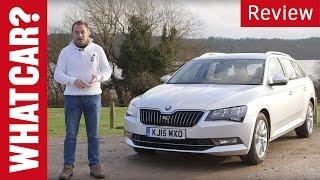 Skoda Superb Estate review - What Car?
