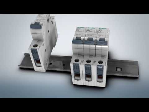 Siemens 5SL miniature circuit breakers