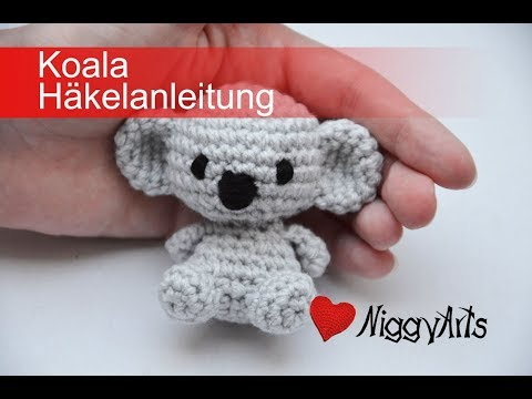 Amigurumi koala with heart pattern | Teddy häkeln, Stricken, Sticken | 360x480
