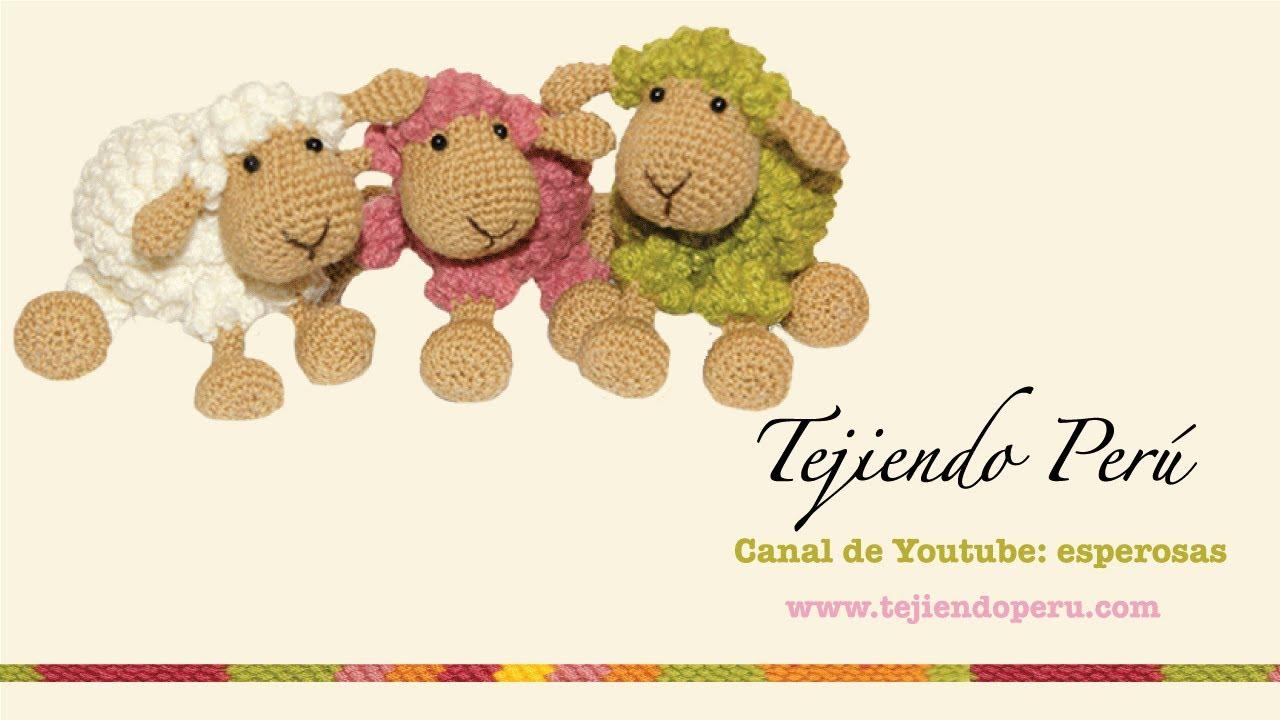 Ovejas tejidas a crochet (amigurumi) Parte 1: tejiendo el cuerpo ...