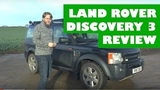 Land Rover Discovery 3 Review - Full detailed review, interior, exterior and driving