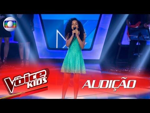 Laura Castro canta 'Apologize' na Audição – The Voice Kids Brasil | 2ª Temporada