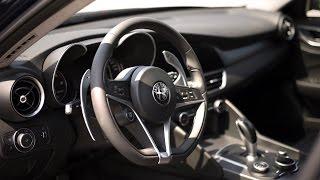 Alfa Romeo Giulia 2016 preview - POV TEST Drive