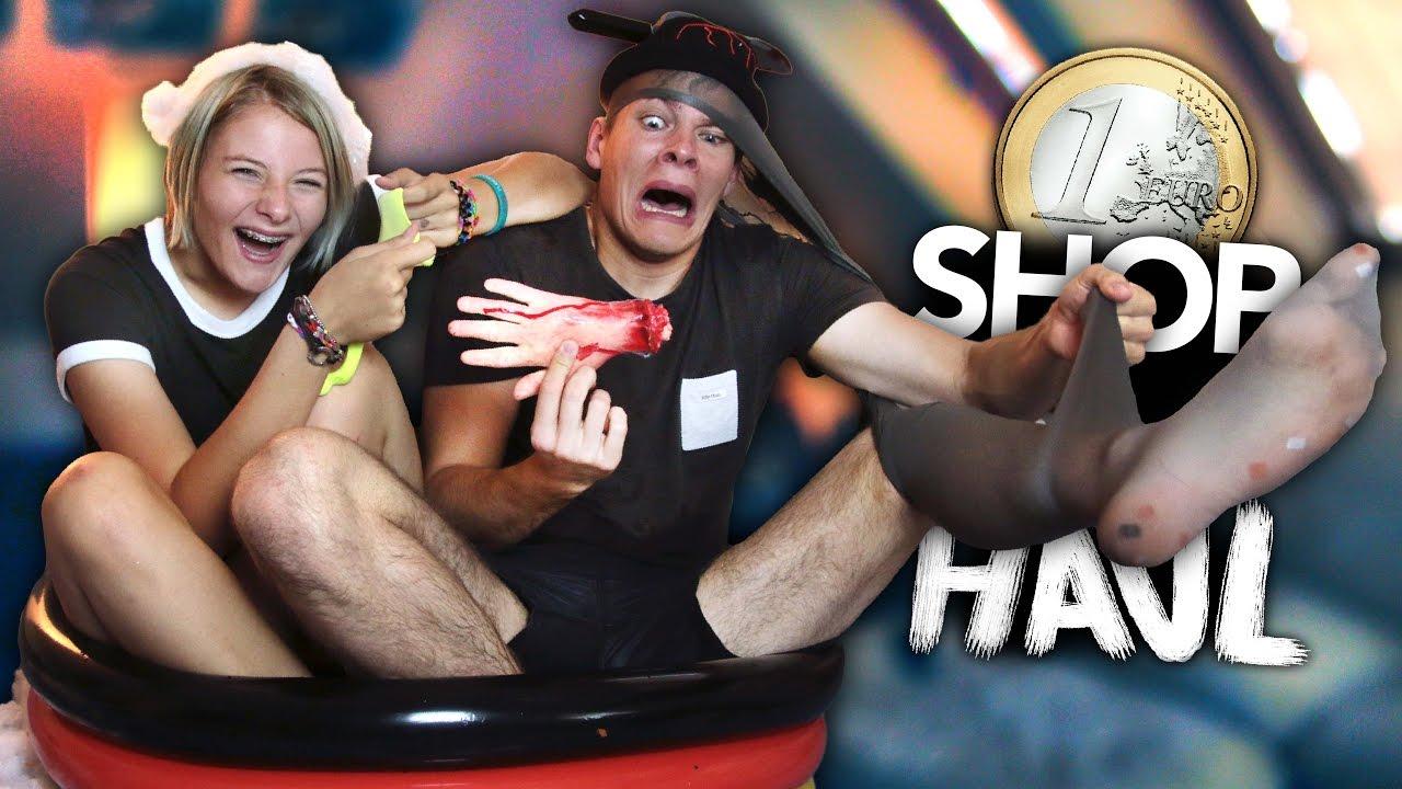1 Euro Shop Haul Halloween Edition Joey S Jungle Youtube