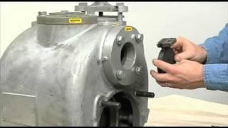super t series pump maintenance pt 3 suction check valve removal
