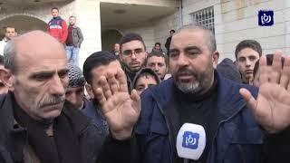 احتجاجات في إربد بعد انتحار شاب صادرت البلدية بسطته - (2/2/2020)