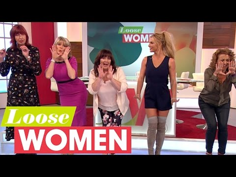 Britney Spears Tries To Teach The Loose Women To Dance! | Loose Women