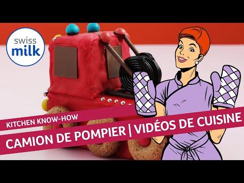 Comment transformer un cake en camion de pompier la - Comment dessiner un camion de pompier ...