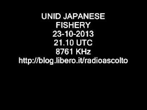 OKINAWA FISHERY RADIO 8761 KHz