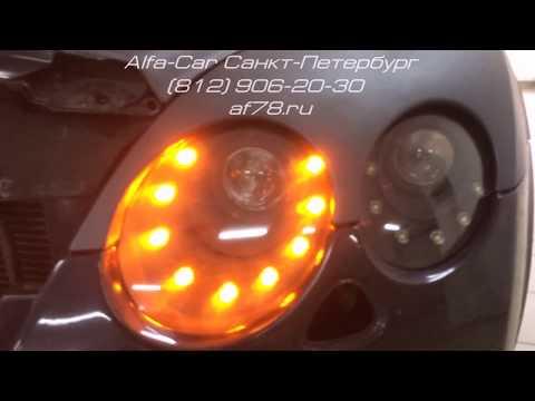 Тюнинг Bentley Continental GT в студии ALFA CAR . LED тюнинг фар