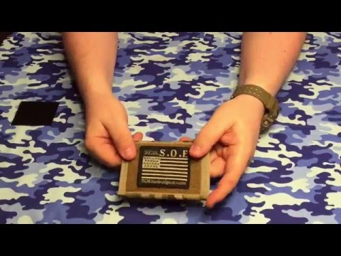 Unboxing SOE (Special Operations Equipment) Wallet And Patch