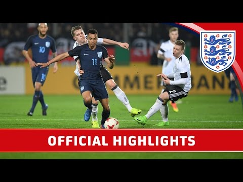 Germany U21 10 England U21   Highlights
