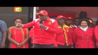 Jubilee yatia nanga Muranga, Nyeri
