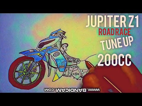 Cara Menggambar Motor Jupiter Z1 Tune Up Mp1 Road Race Youtube
