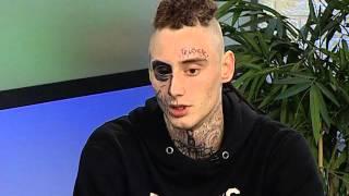 Никита Лесной: человек с татуировкой черепа