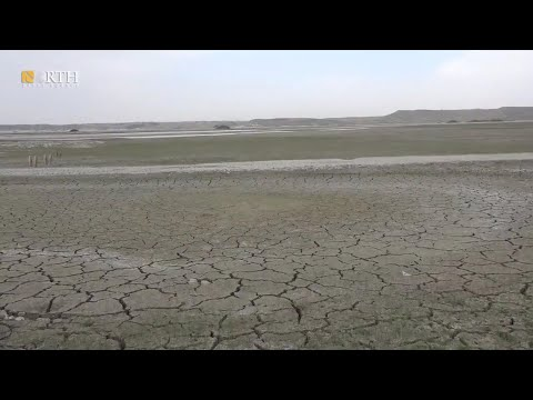 Euphrates Dried Up in Syria with dams from Turkey