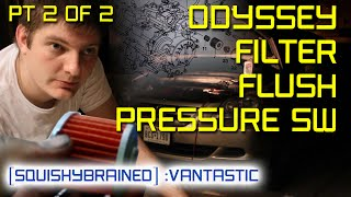 3rd gen honda odyssey transmission fix 2 of 2 filter flush and pressure switches