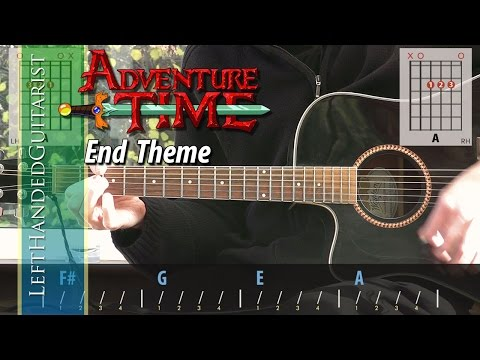 Adventure Time  End Theme  guitar lesson