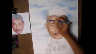 Cara menggambar karikatur dengan pensil