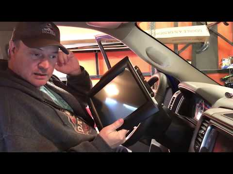 Tesla Style Touchscreen For Dodge Ram