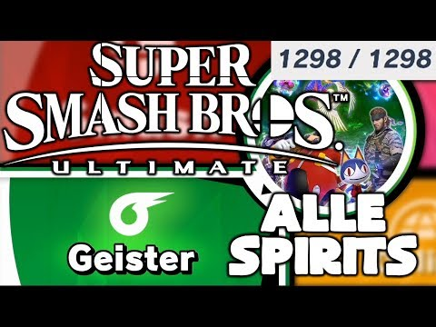 Super smash bros ultimate geister liste