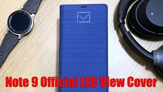 Official Samsung Galaxy Note 9 LED View Cover