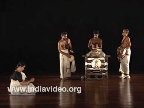The Mizhavu melam – percussion ensemble