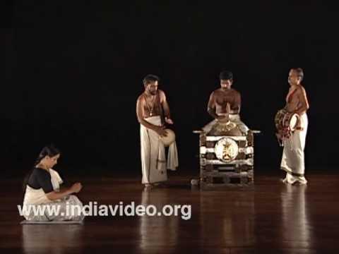 The Mizhavu melam - percussion ensemble