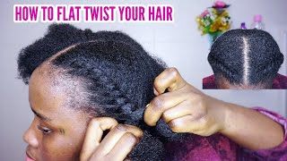 How To Flat Twist Natural Hair A Step By Step Guide