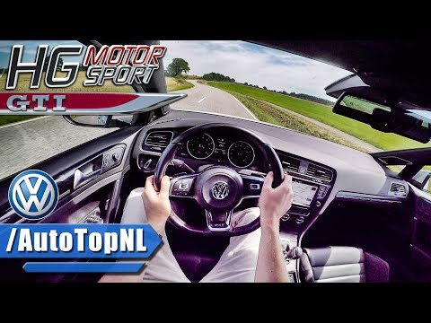 380HP VW Golf GTI MK7 POV Test Drive HG Motorsport by AutoTopNL