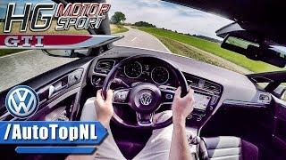 380HP VW Golf GTI MK7 POV Test Drive HG Motorsport by AutoTopNL