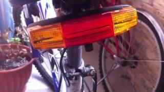 Поворотники и стоп-сигнал для велосипеда