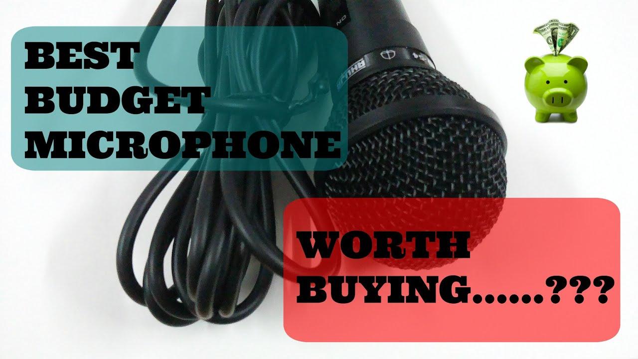 best budget microphone under 2016 youtube. Black Bedroom Furniture Sets. Home Design Ideas
