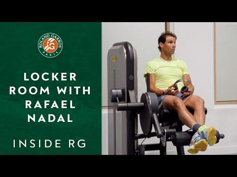 Inside Roland-Garros #2 - The Locker Room with Rafael Nadal | Roland-Garros 2019