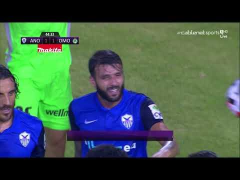 Anorthosis Famagusta [1]-1 Omonia Nicosia - Tornike Okriashvili 45' Pen (Cypriot Cyta League)