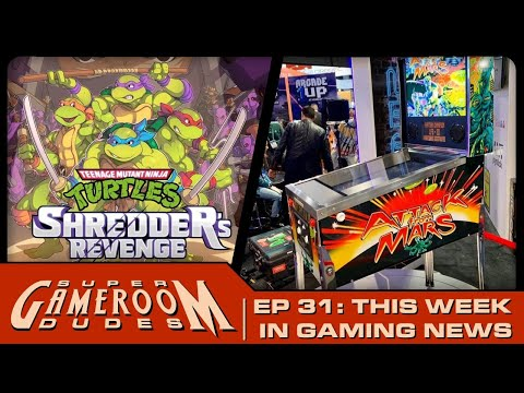 Arcade1UP Attack From Mars! Zaccaria on Legends! TMNT! iiRcade! AND MORE! from MichaelBtheGameGenie