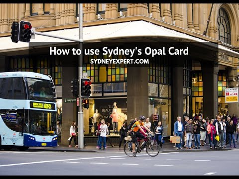 How To Use Sydney S Public Transport & Opal Card