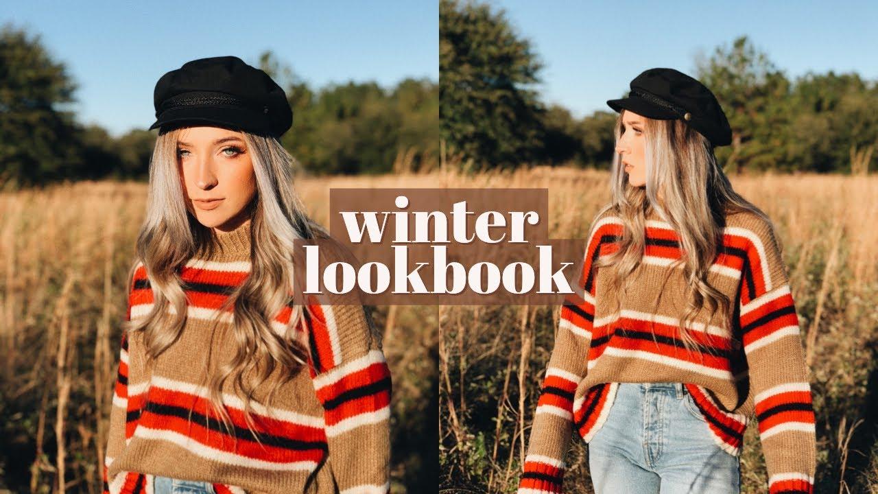 WINTER LOOKBOOK & OUTFIT IDEAS (2017)
