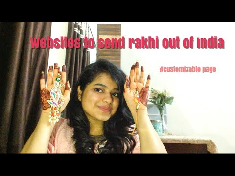 How To Send Rakhi Aboard| Usa|Uk | Shraddha