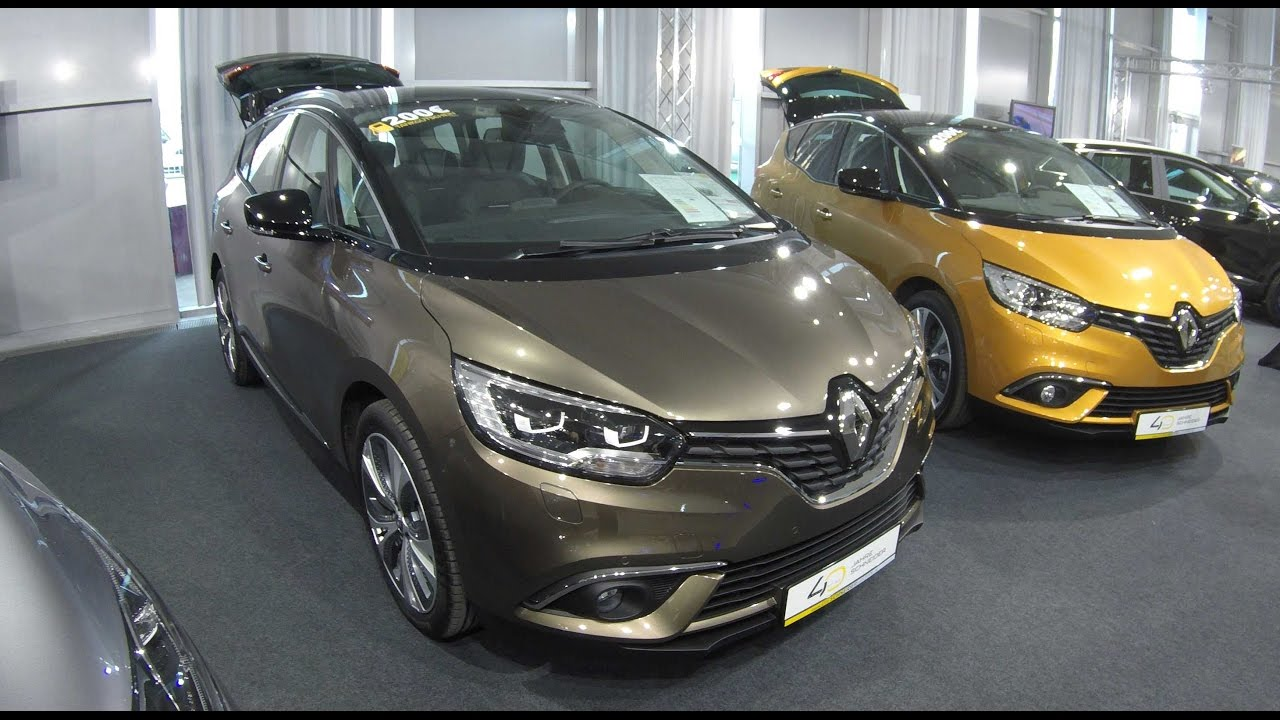 renault grand scenic model 2017 quarzit brown colour walkaround interior youtube. Black Bedroom Furniture Sets. Home Design Ideas